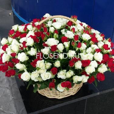Цветы в коробке № 236